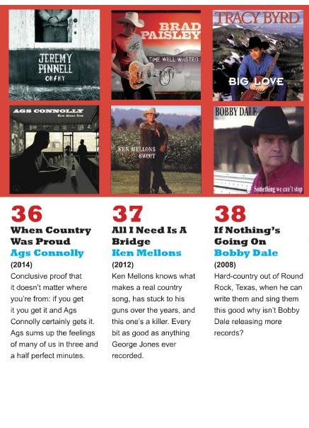 WHEN COUNTRY WAS PROUD' NAMED AMONG TOP 50 COUNTRY SONGS OF LAST 30